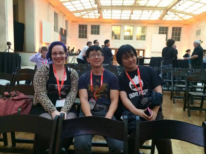 Me, Thomas Lu, Gregory Chen at Indieprize Casual Connect.jpg