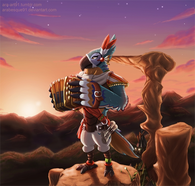 Breath of the Wild Review - Kass.jpg