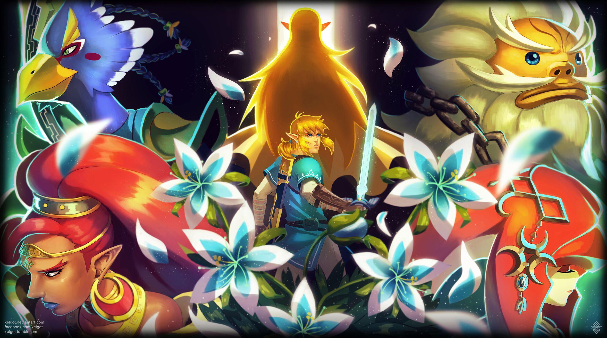 Legend Of Zelda Breath Of The Wild A Comprehensive